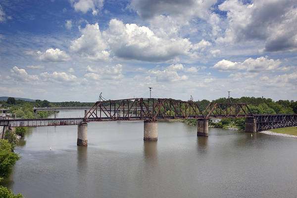 Coosa River Photograph - View Of The Coosa River In Gadsden by Carol M Highsmith