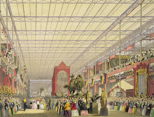 Palace Drawing - View Of The Foreign Nave Of The Great by English School