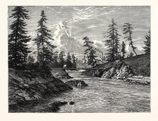 Port Of Vancouver Wall Art - Drawing - View Of The Gorge, Or Narrowest Point Of The Western by English School