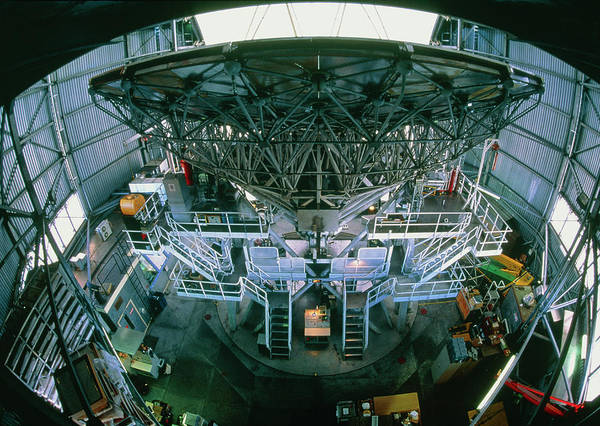 Tele Photograph - View Of The James Clerk Maxwell Telescope by David Nunuk/science Photo Library