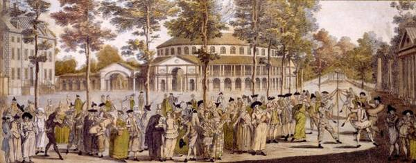 Royal Court Drawing - View Of The Jubilee Ball, Ranelagh by English School