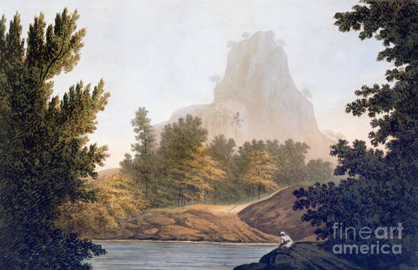 River Bank Drawing - View Of The Jungle by William Hodges