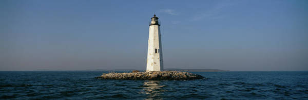 Virginia Lighthouse Photograph - View Of The New Point Comfort by Panoramic Images
