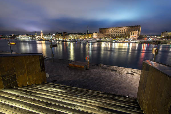 Konica Wall Art - Photograph - View Of The Old Town Stockholm Sweden by Giuseppe Milo