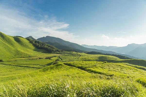View Of The Plateau,soni Kougen In Japan Art Print by Yagi-Studio