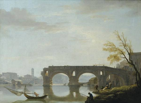 Painting - View Of The Ponte Rotto by Celestial Images