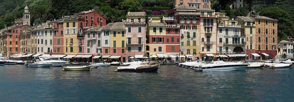Portofino Photograph - View Of The Portofino, Liguria, Italy by Panoramic Images