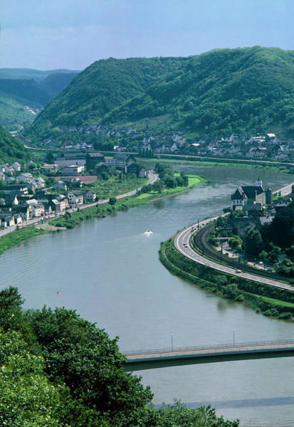 Rhine River Photograph - View Of The River Rhine by Peter Menzel/science Photo Library