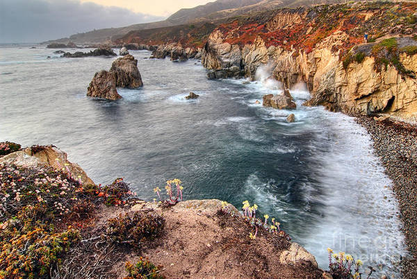 Monterey Bay Photograph - View Of The Rocky Coast From Soberanes Point In Garrapata State  by Jamie Pham