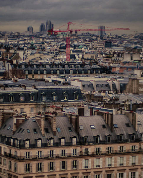Paris Rooftop Photograph - View Of The Roofs In Paris by Marga Frontera