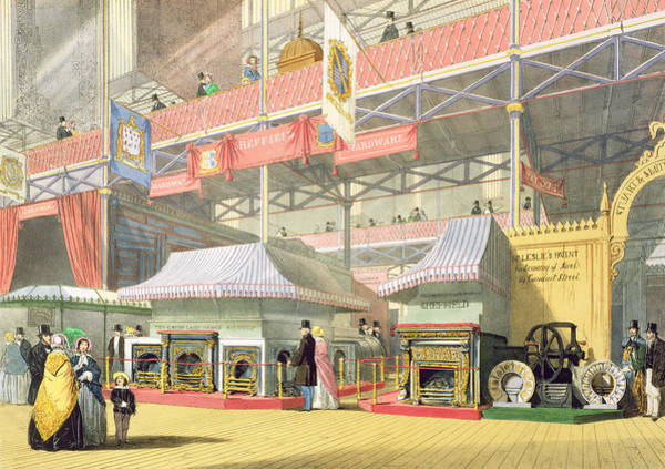 Palace Drawing - View Of The Sheffield Hardware Stand by English School