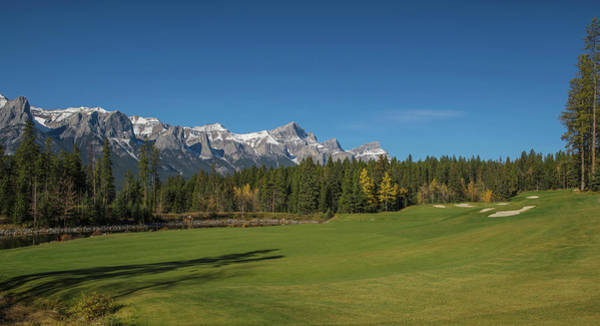 Canmore Photograph - View Of The Silvertip Golf Course by Panoramic Images