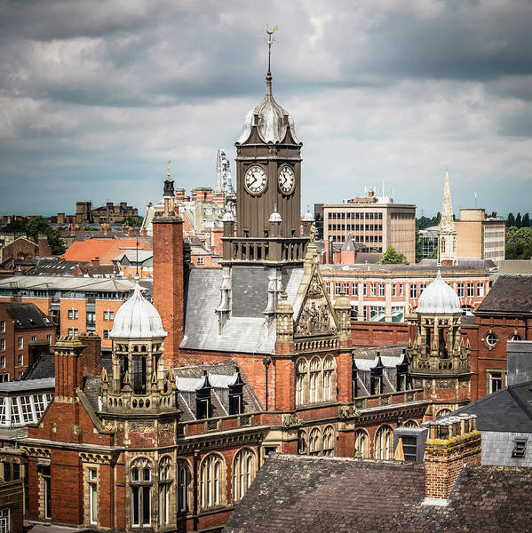 Courthouse Towers Wall Art - Photograph - View Of York Magistrates Court by David Madison