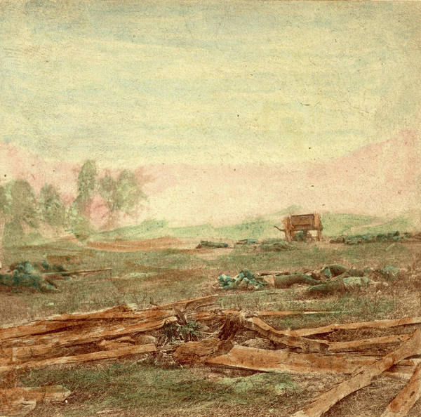 Antietam Photograph - View On Battle Field Of Antietam Where Sumners Corps by Litz Collection