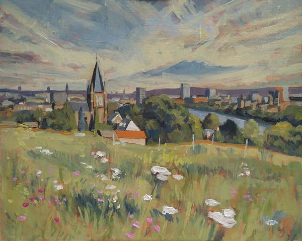 View On Maastricht Art Print