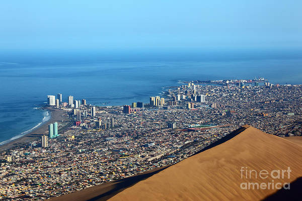 Photograph - View Over Iquique Chile by James Brunker