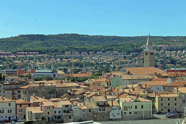 Photograph - View Over Koper by Tony Murtagh
