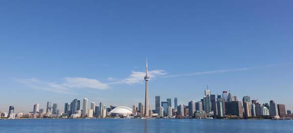 Lake Photograph - View Over Lake Ontario Towards Downtown by Mark Thomas / Design Pics