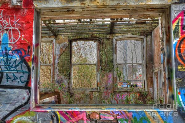 Photograph - View Through A Window by David Birchall