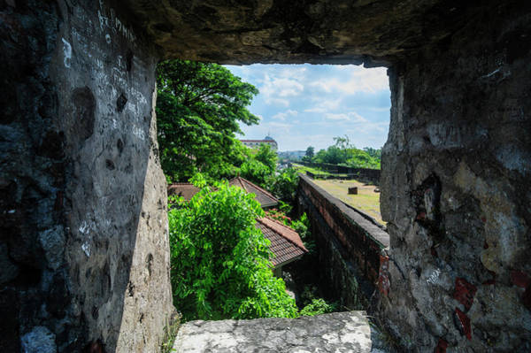Fortification Photograph - View Through The Old Watchtower by Michael Runkel