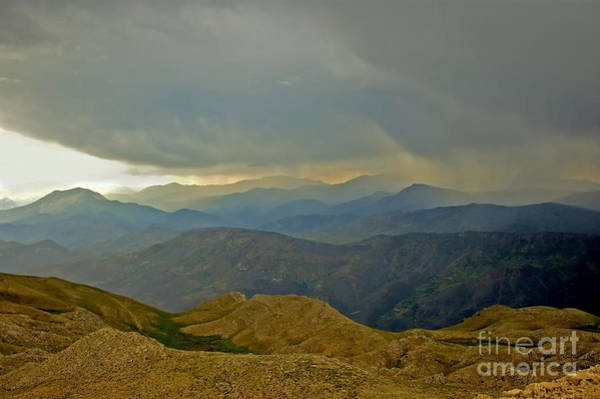 Eastern Anatolia Photograph - View To The South From The Top Of Mount Nemrut Turkey by Harold Bonacquist