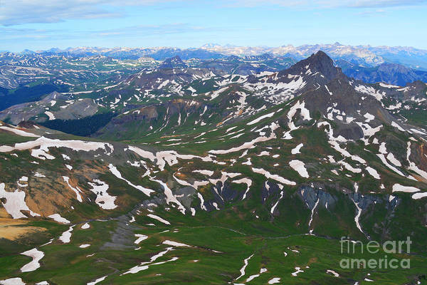 Photograph - Views From Uncompahgre Peak by Kate Avery
