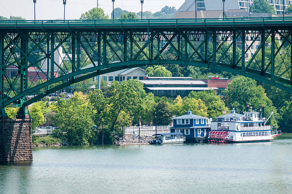 Photograph - Views Of Knoxville Tennessee Downtown On Sunny Day by Alex Grichenko