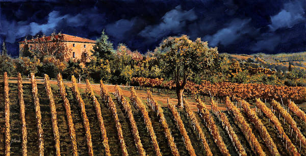 Wall Art - Painting - Vigne Orizzontali by Guido Borelli