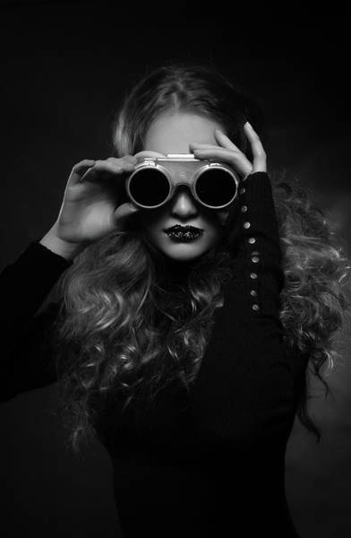 Steampunk Photograph - Viki by Denisa Justusov?? ??umcov??
