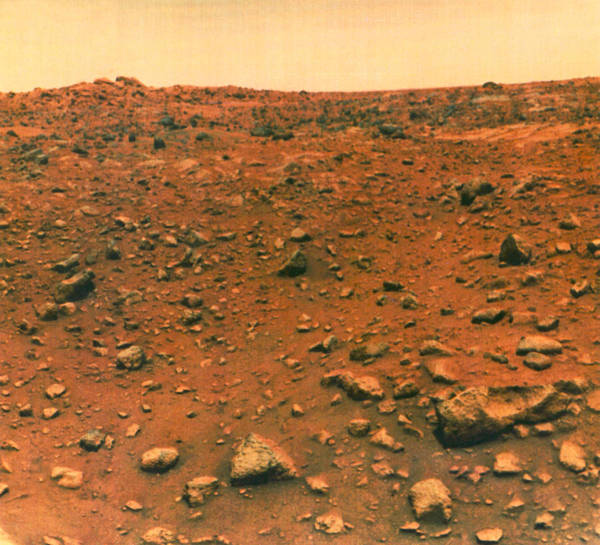 1976 Photograph - Viking 1 On Mars by Underwood Archives