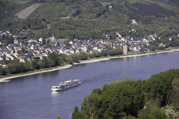 Wall Art - Photograph - Viking Ingvi Cruising The Rhine In Braubach by Teresa Mucha