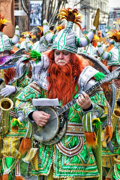Photograph - Viking Mummer by Alice Gipson