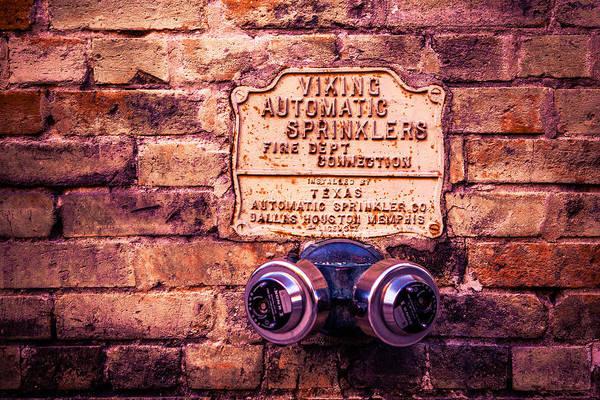 Photograph - Viking Sprinkler by Melinda Ledsome