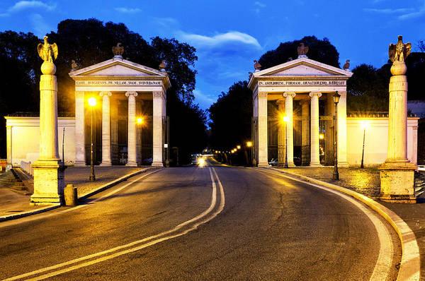 Photograph - Villa Borghese by Fabrizio Troiani
