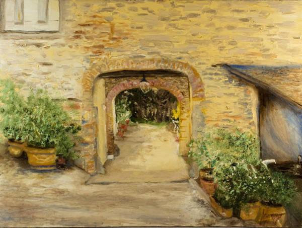 Villa In Italy Art Print