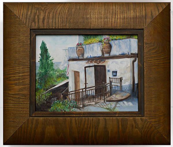 Villa In Tuscany Art Print