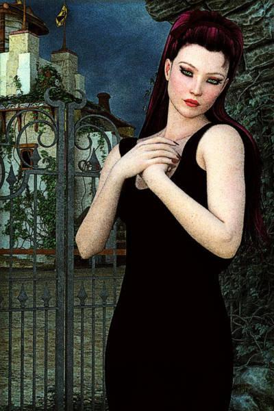 Painting - Villa Of Dreams by Maynard Ellis