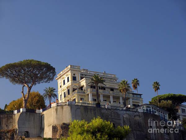 Photograph - Villa On The Cliffs Of Sorrento by Brenda Kean