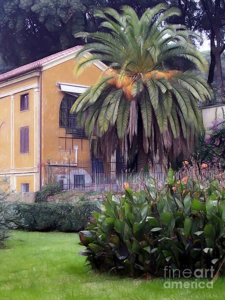 Photograph - Villa Rome Photoart by Lutz Baar