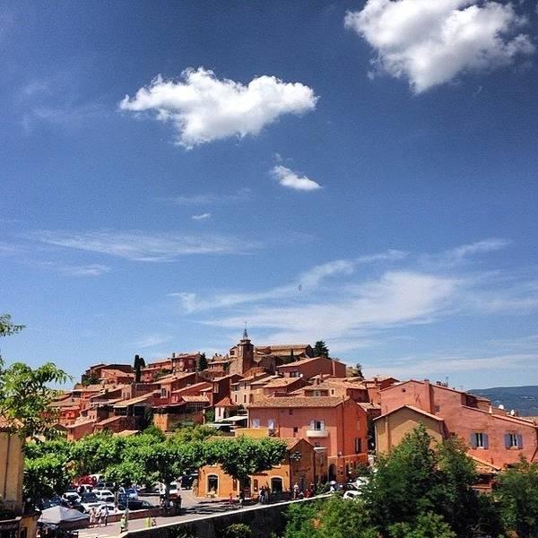 Photograph - Village De Roussillon - Provence - France by Cristina Stefan