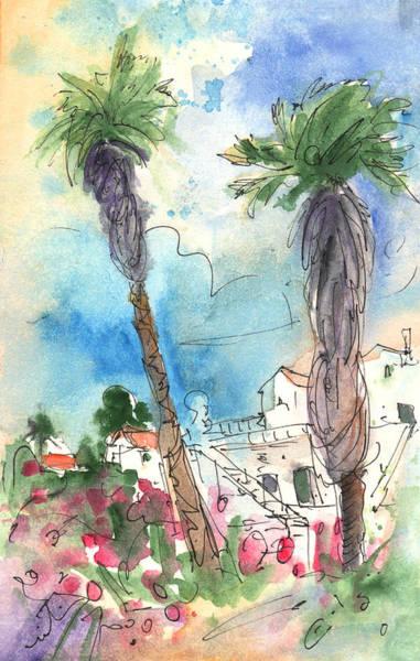Painting - Village In Lanzarote 02 by Miki De Goodaboom
