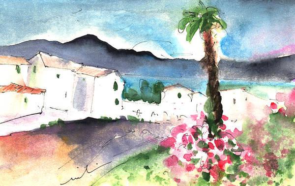 Painting - Village In Lanzarote by Miki De Goodaboom