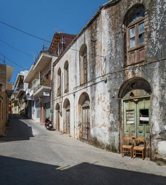 Greece Photograph - Village In Northern Crete, Greece by Ed Freeman