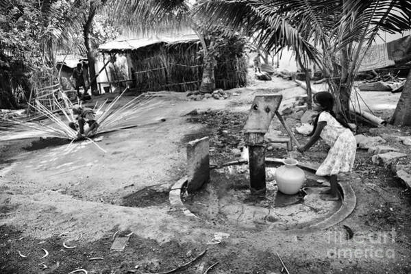Weaving Photograph - Village Life by Tim Gainey