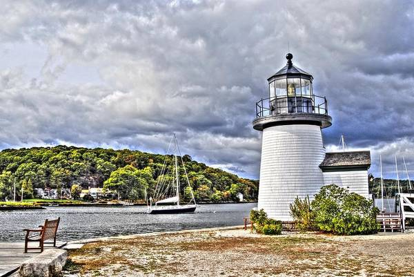 Photograph - Village Lighthouse by Donald Williams