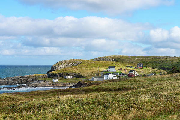 Atlantic Canada Wall Art - Photograph - Village Of Maberly On The Bonavista by Panoramic Images