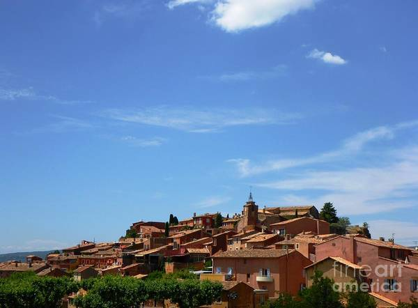 Photograph - Village Of Roussillon - France by Cristina Stefan