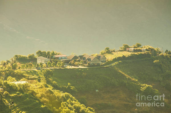 Photograph - Village On Mountain by Yew Kwang