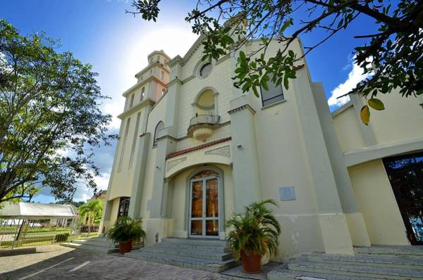 Photograph - Villalba Catholic Church by Ricardo J Ruiz de Porras