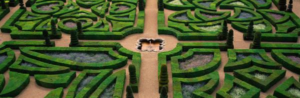 Villandry Photograph - Villandry Chateau Gardens, Loire by Panoramic Images